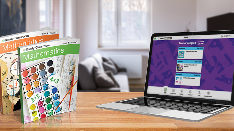 i-Ready Classroom Mathematics print and digital components.